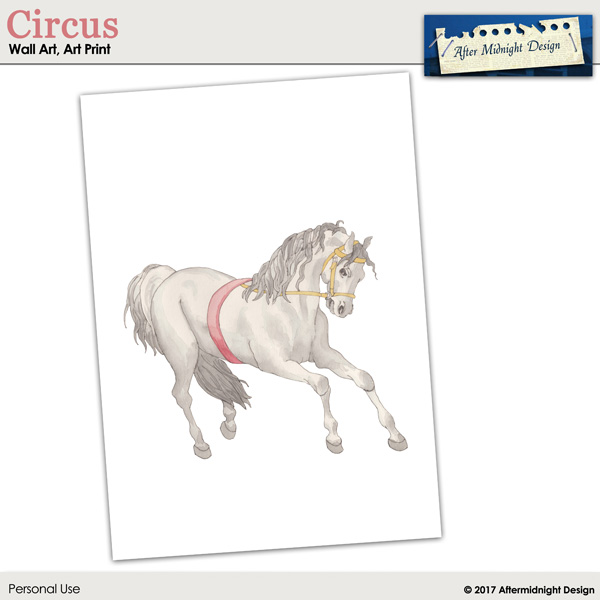 Art Print Circus