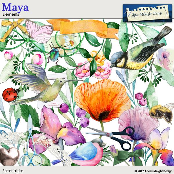 Maya Elements 1