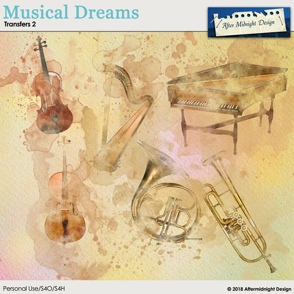 Musical Dreams Transfers 2