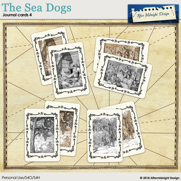 The Sea Dogs Journal Cards 4