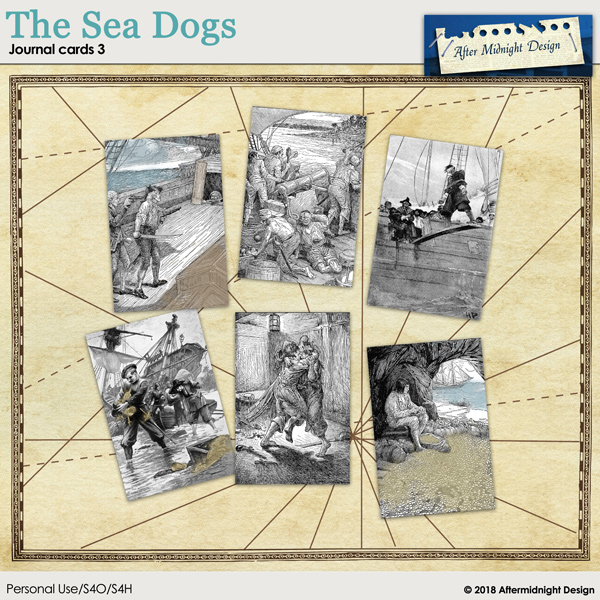 The Sea Dogs Journal Cards 3