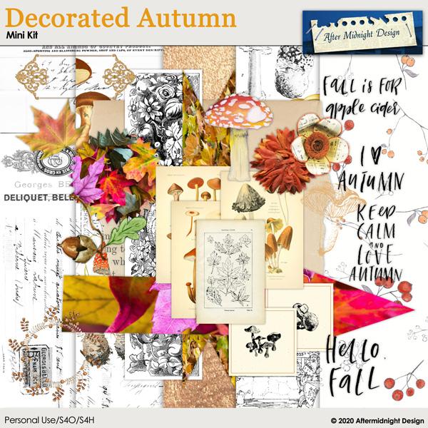 Decorated Autumn Mini Kit
