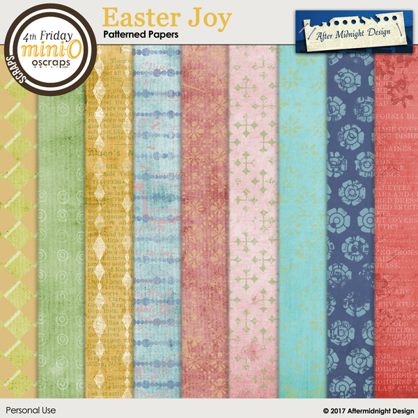 Easter Joy Papers 2