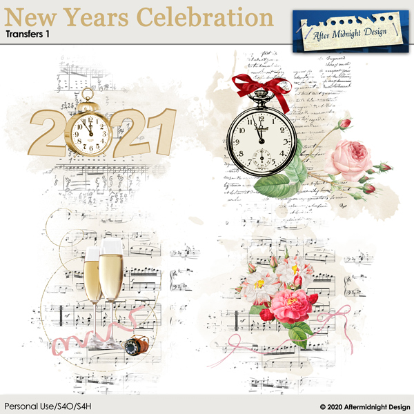 New Years Celebration Transfers 1
