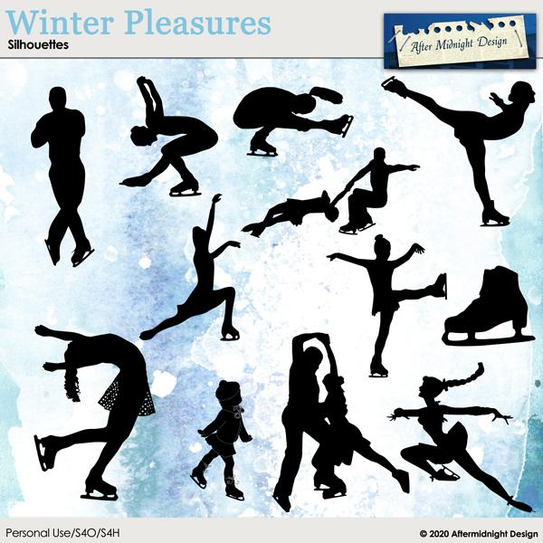 Winter Pleasures Silhouettes