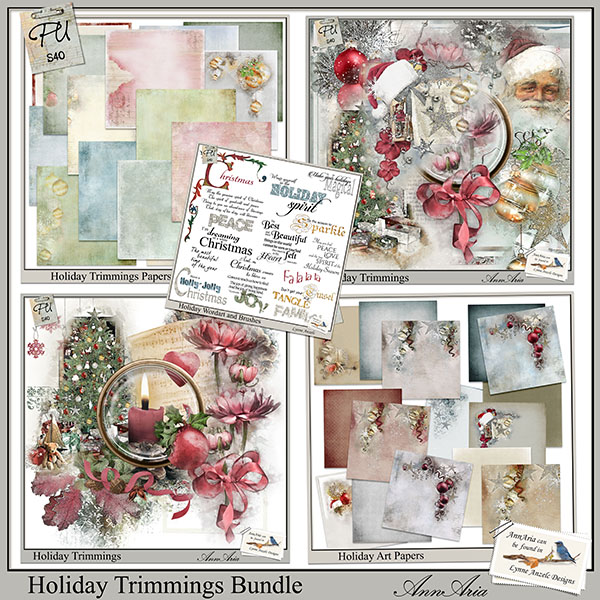 Holiday Trimmings Bundle