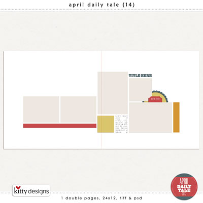 April Daily Tale 14