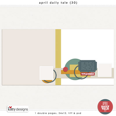April Daily Tale 30