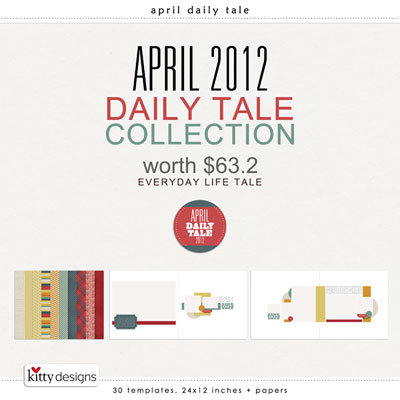 April Daily Tale 2012 Collection