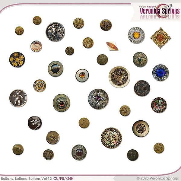 Buttons Buttons Buttons Vol 12