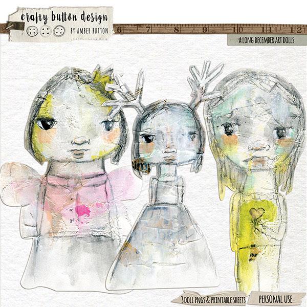 A Long December Art Dolls