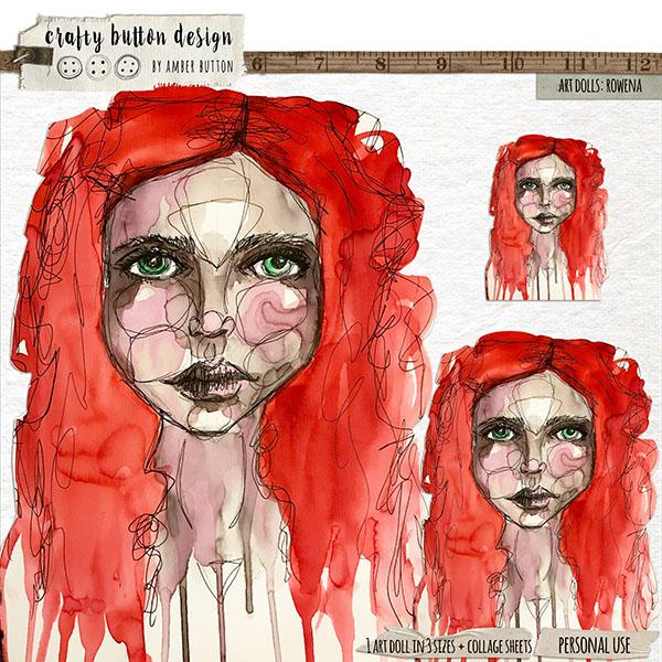 Art Dolls: Rowena