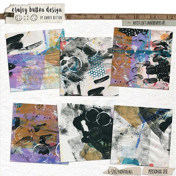 Artist Loft Underpapers Vol1