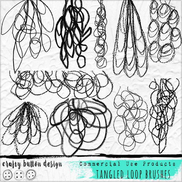 Tangled Loop Brushes for Commercial Use