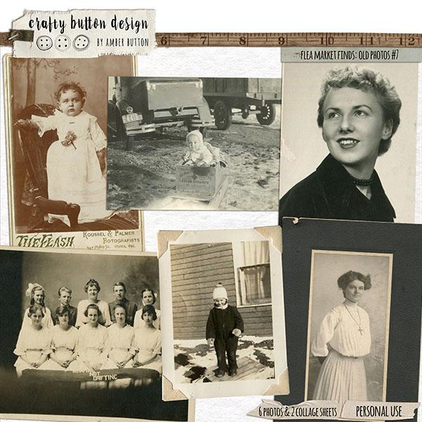 Flea Market Finds: Old Photos Vol7