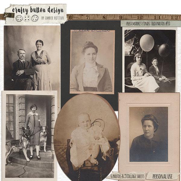 Flea Market Finds: Old Photos Vol10