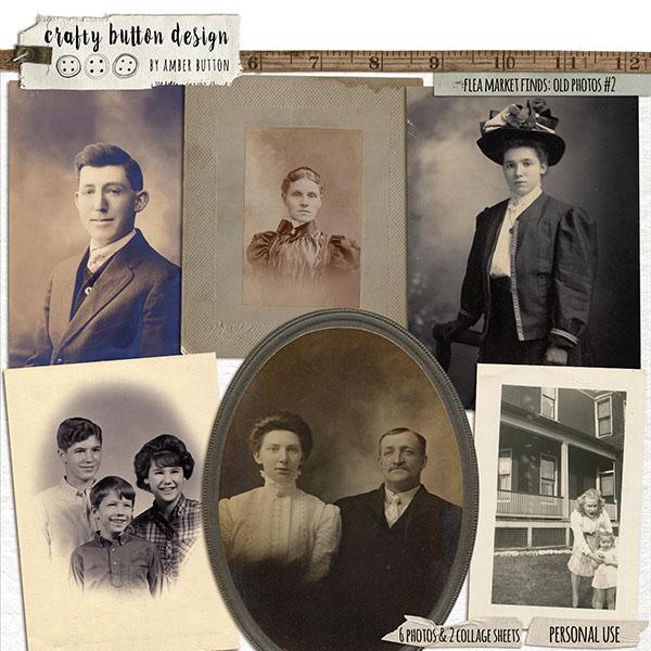 Flea Market Finds: Old Photos Vol2