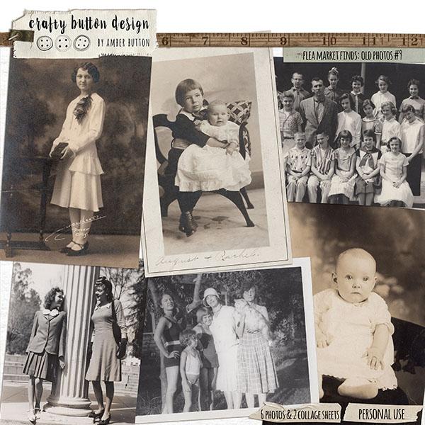 Flea Market Finds: Old Photos Vol9
