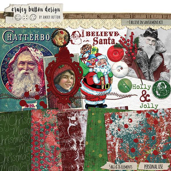 I Believe In Santa Mini Kit