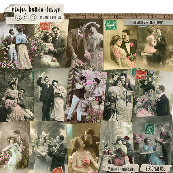 Love Story Vintage Couples