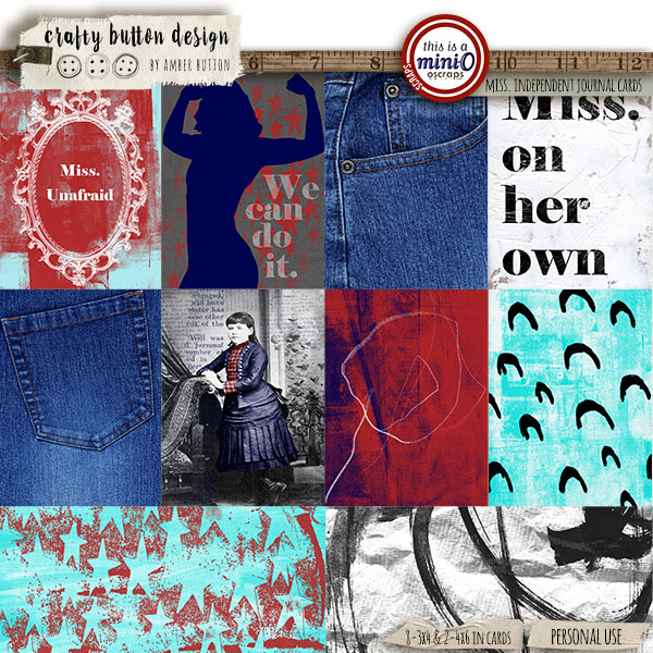 Miss Independent Journal Cards