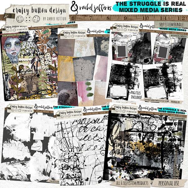 The Struggle is Real: Self Esteem Collaborative Bundle with Rachel Jefferies