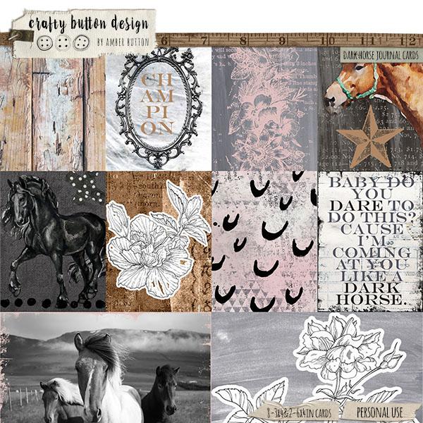 Dark Horse Journal Cards