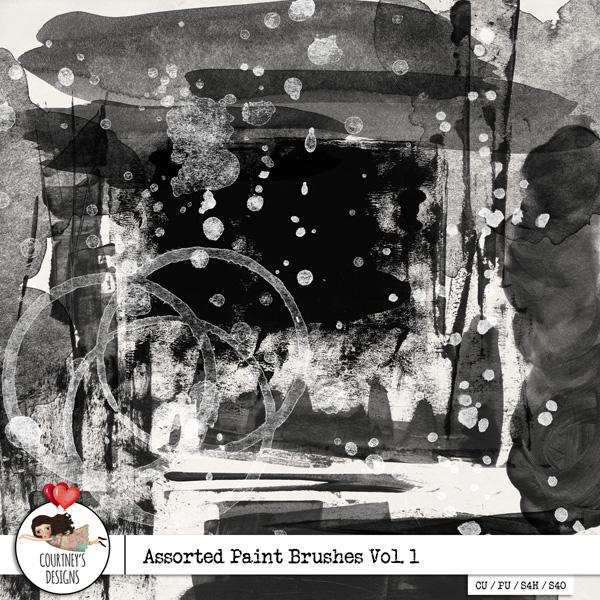 Assorted Paint Brushes Vol. 1 - CU/PU