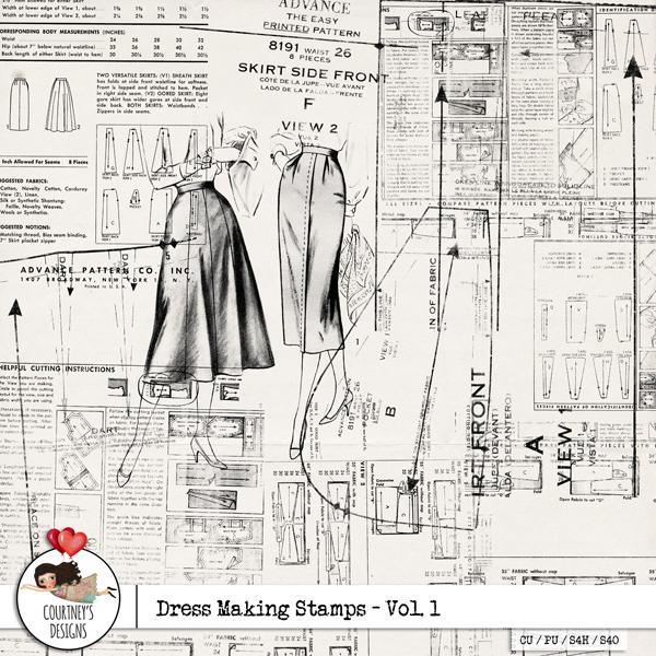 Vintage Dress Making 78
