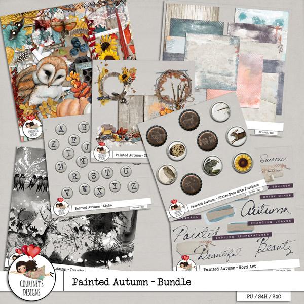 Painted Autumn - Bundle + BONUS