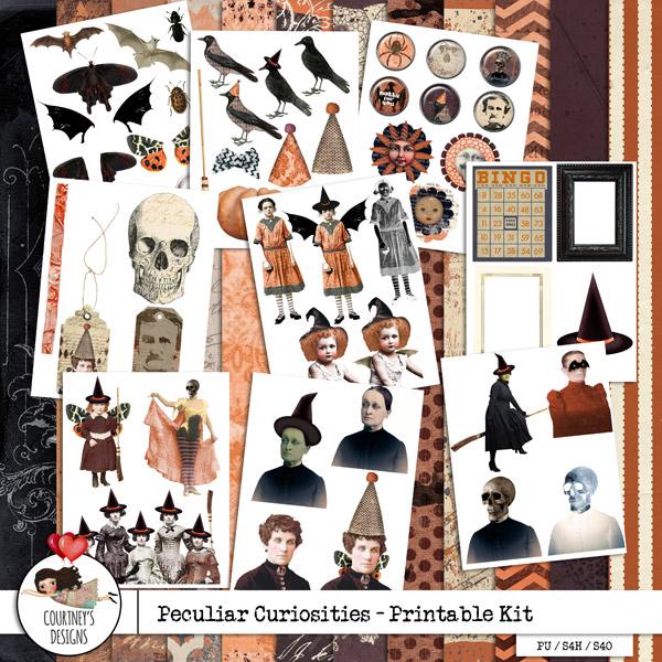 Peculiar Curiosities - Hybrid Kit
