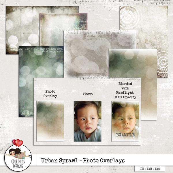 Urban Sprawl - Photo Overlays