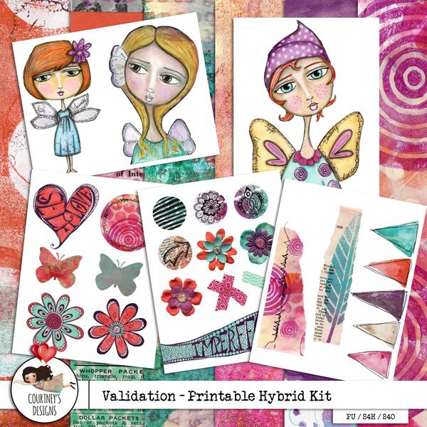 Validation - Hybrid Printable Kit