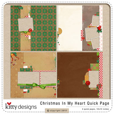 Christmas In My Heart Quick Pages