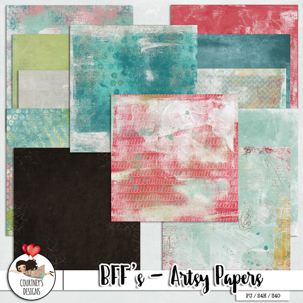 BFF's - Artsy Papers
