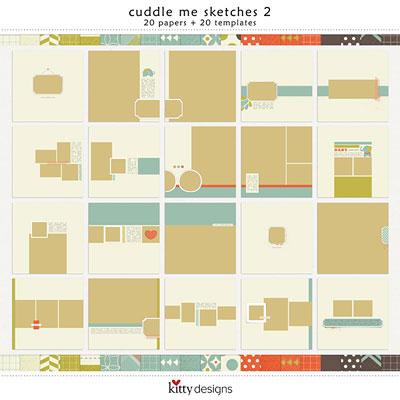 Cuddle Me Sketches 2