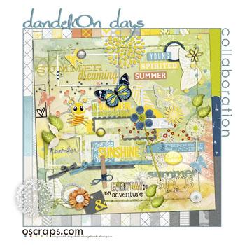 DandeliOn Days :: Oscraps Collaborative Kit