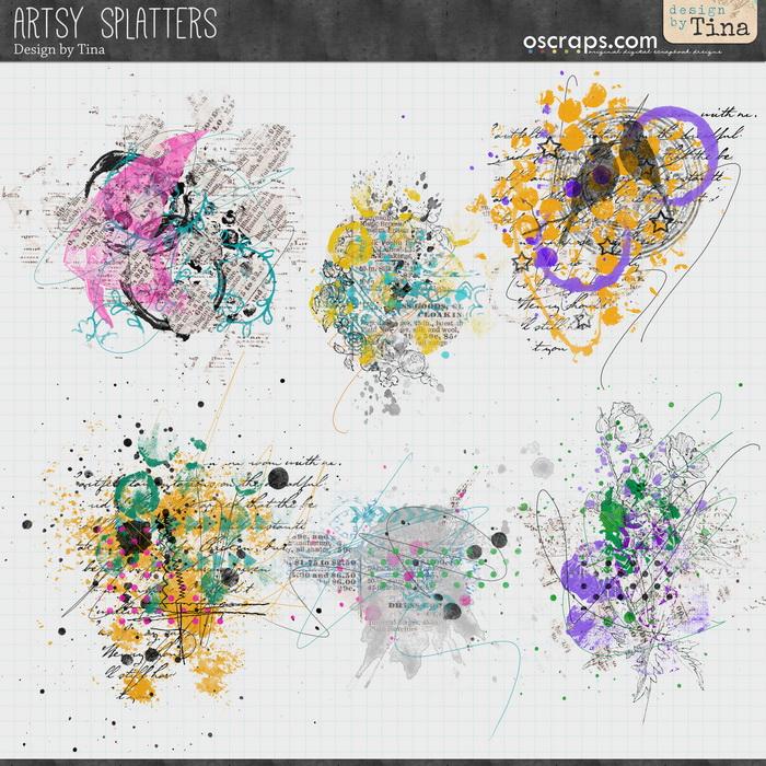 Artsy Splatters