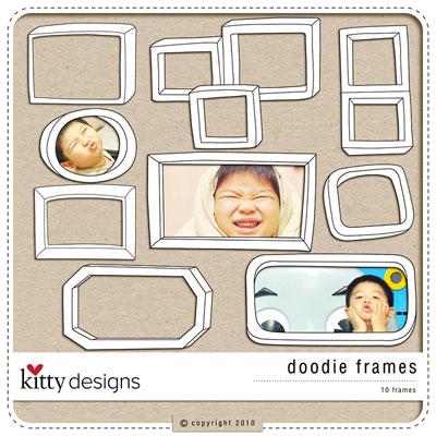 Doodie Frames