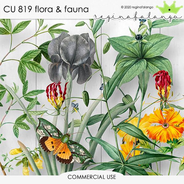 CU 819 FLORA & FAUNA