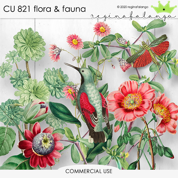 CU 821 FLORA & FAUNA