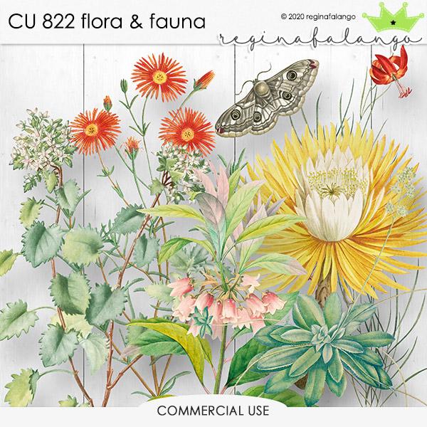CU 822 FLORA & FAUNA