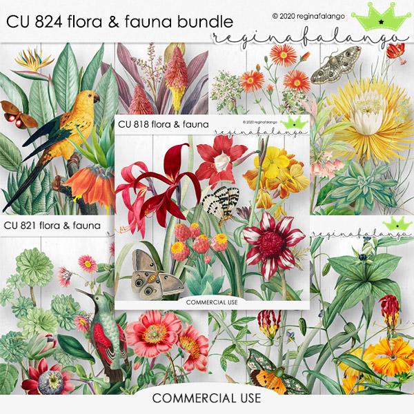 CU 824 FLORA & FAUNA BUNDLE