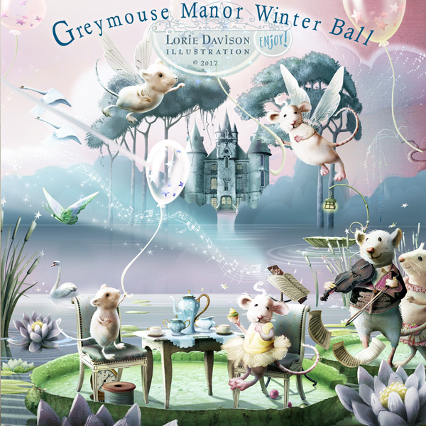 Greymouse Manor Winter Ball (With everything in it!)