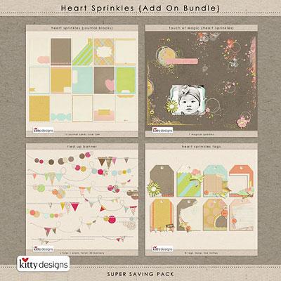 Heart Sprinkles {Add On Bundle}