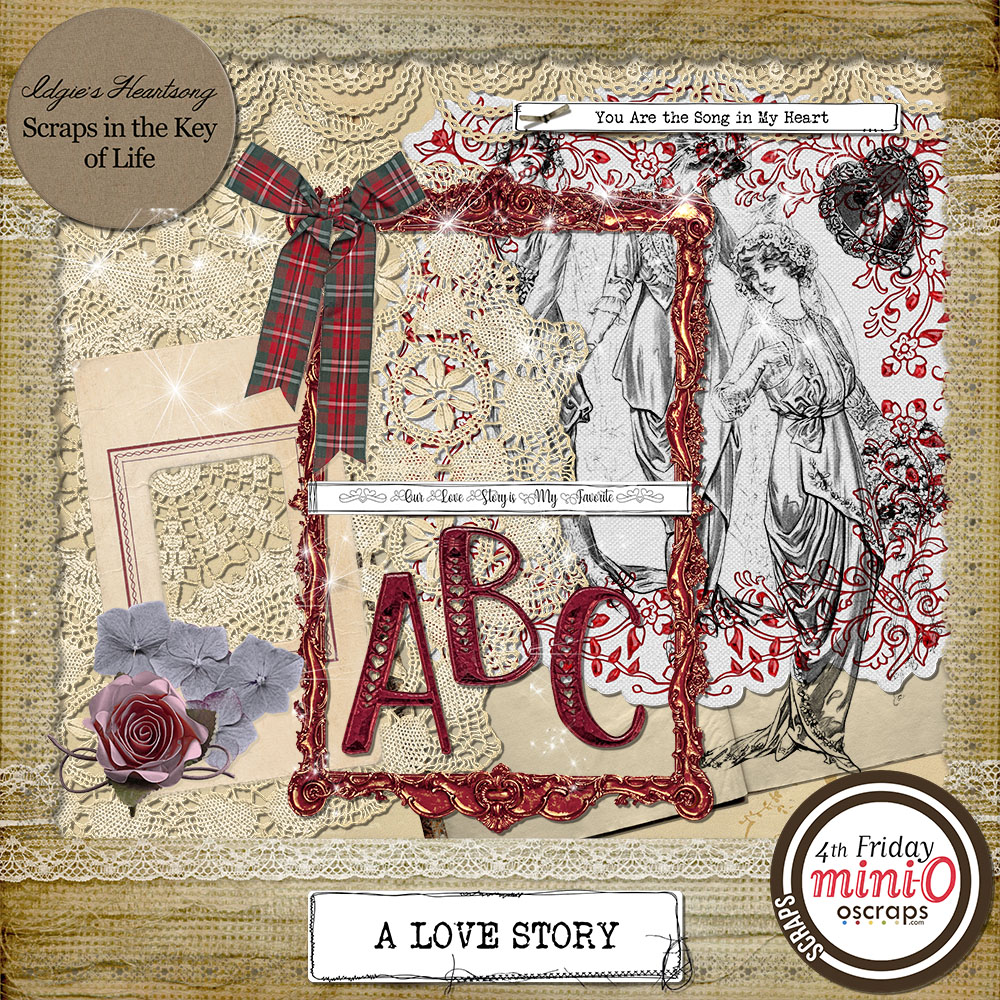 A Love Story - Mini Kit 2 by Idgie's Heartsong