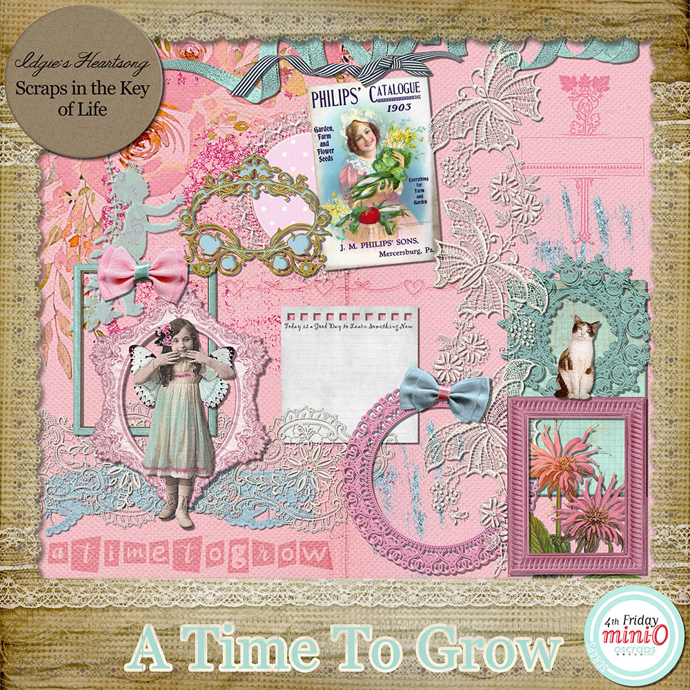 A Time To Grow - Mini O Kit by Idgie's Heartsong