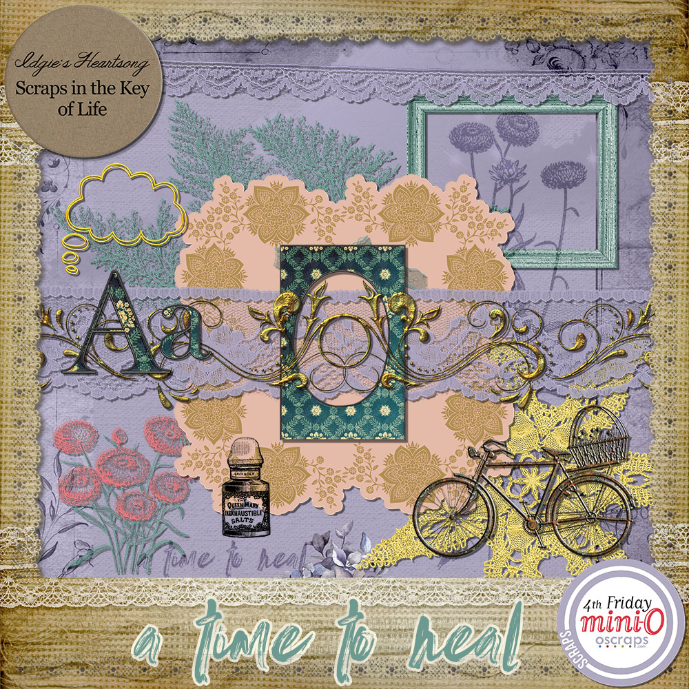 A Time To Heal - Mini O Kit by Idgie's Heartsong
