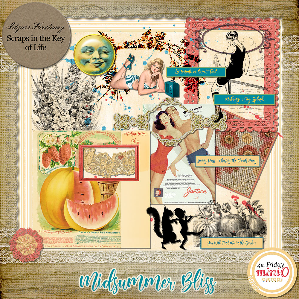 Midsummer Bliss - A Mini O Kit by Idgie's Heartsong