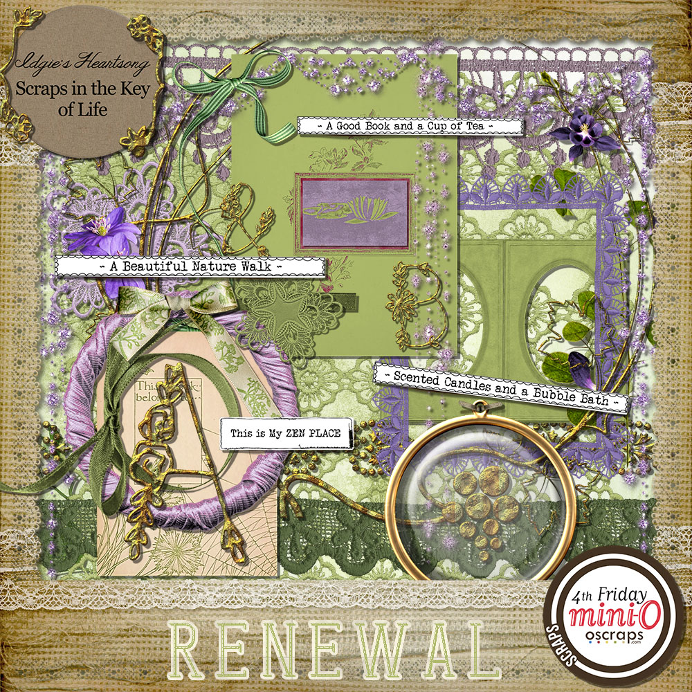 RENEWAL - Mini Kit 2 by Idgie's Heartsong